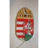 ÁTTÖRT, falra akasztható kerámia lámpa, a magyar címerrel