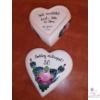 Szív alakú bonbonier 50. születésnapra