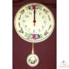 Kör alakú ingás óra