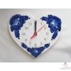 Szív alakú fali óra