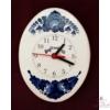 Ovális alakú fali óra