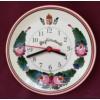 Fali tányér óra, emblémával Ø22 cm