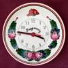 Fali tányér óra, emblémával Ø20 cm