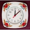 Szögletes tányér óra   Ø20 cm