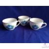 Kézi festésű porcelán teás-/ kávés csésze /2 dl/