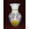 Napocskás váza óvodai ballagásra, csoportnévsorral /14 név/ a lufikban /24 cm/