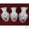 Mókusos váza óvodai ballagásra, csoportnévsorral /15 név/ a lufikban /24 cm/