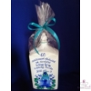 8 dl-es pálinkás butella 60. születésnapra