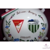 FC LEVADIA- DEBRECENI VSC Bajnokok Ligája pálinkás kulacs