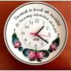 Tányér óra házassági évfordulóra   Ø26 cm