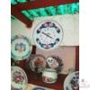 Kézi festésű 31 cm-es tányéros házszám