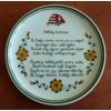 Pizzás tányér  /Ø32 cm/   Székely himnusz