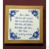 Edényalátét /fali kép/ Házi áldásos, Nagytemplomos, pulykás/