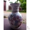 Nagy váza hasas maci lufikkal /24 cm/