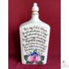1 literes pálinkás butella Pálinka verssel