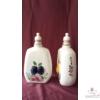 Domború gyümölcsös pálinkás butella /4 féle/  8 dl
