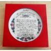 Fali pizzás tányér 40. születésnap alkalmából  Ø32 cm