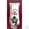 Domború felületű, szépen díszített váza emblémával  /22 cm/