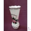 Fodros szájú váza, nagyobb /19 cm/