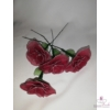 Harisnyavirág, bordó színű