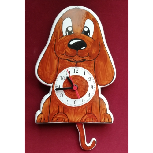 Kutya ingás óra sötétebb barna