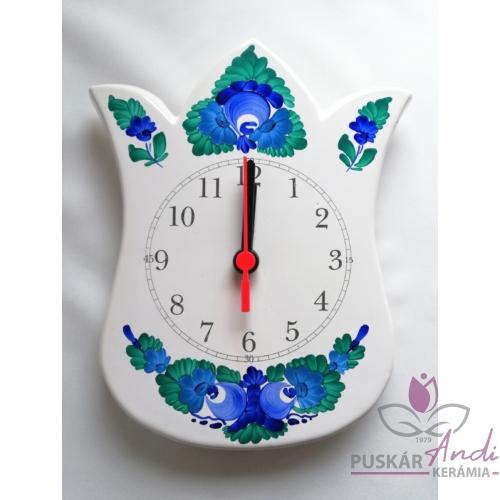 Tulipán alakú fali óra
