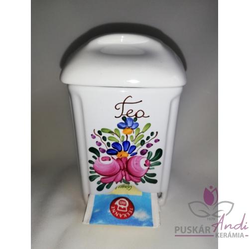 Teafilteradagolós fűszertartó /13 cm magas/
