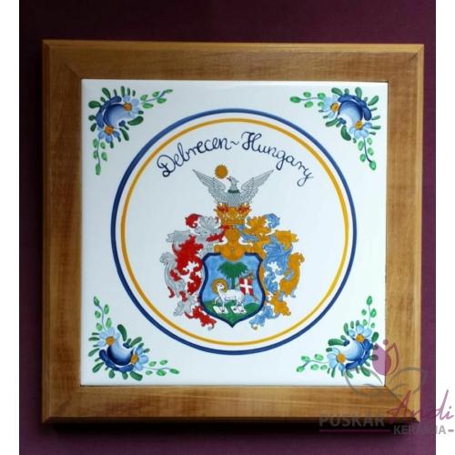 Edényalátét Debrecen címerével