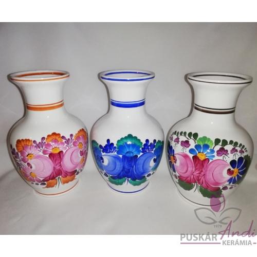 """Nagy csokros váza """"hasas""""  /24 cm/"""