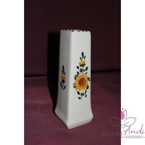 Szögletes kis váza /12 cm/